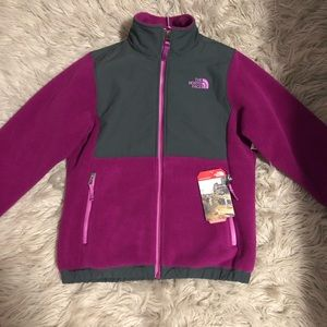 Girls 10/12 Northface Denali Jacket